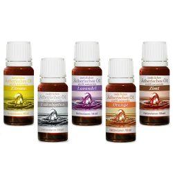 Neuston Healthcare Top5 ätherische Öle - 100% naturrein 5×10 ml