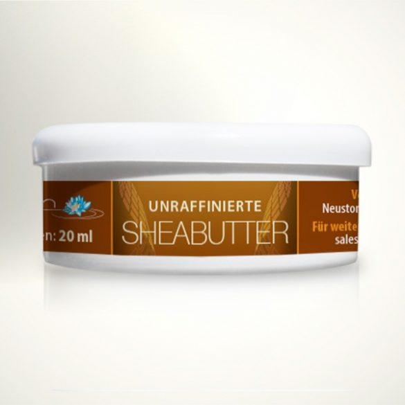 Sheabutter 20ml unraffiniert - 100% rein