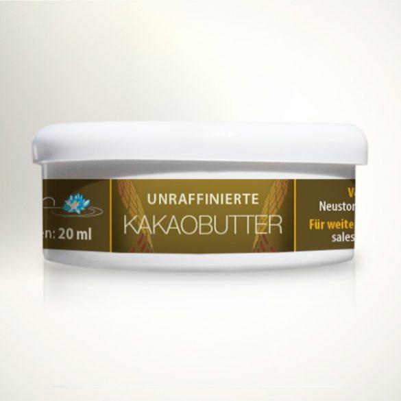 Kakaobutter 20ml unraffiniert - 100% rein
