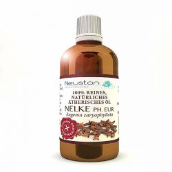Nelke Ph. Eur. - 100% reines und natürliches ätherisches Öl 100 ml - Premium Pharmaqualität