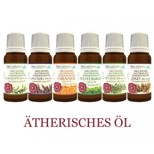 Neuston Healthcare Top 6 ätherische Öle EP - 100% naturrein 6×10 ml- Premium Pharmaqualität