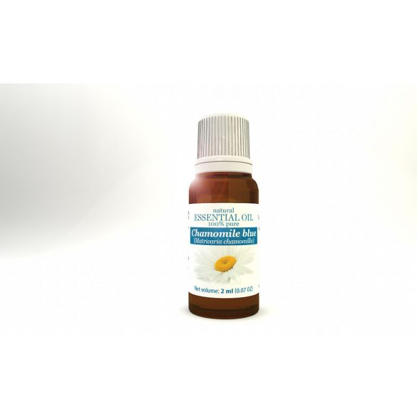 Chamomile blue (Matricaria chamomilla) - natural 100% pure essential oil 2 ml