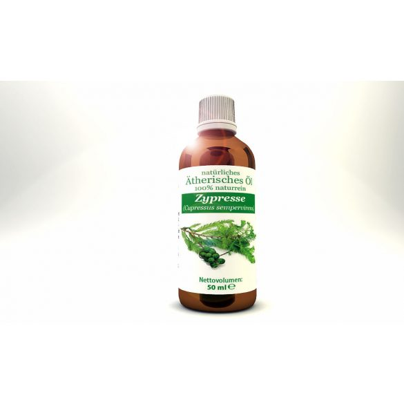 Cypress (Cupressus sempervirens)- natural 100% pure essential oil 50 ml