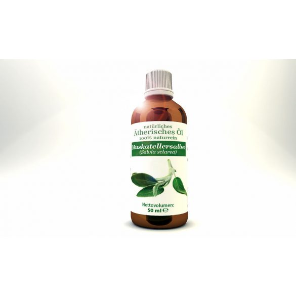 Clary Sage (Salvia sclarea) - natural 100% pure essential oil 50 ml